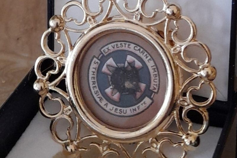 Relikwie św. Teresy z Lisieux